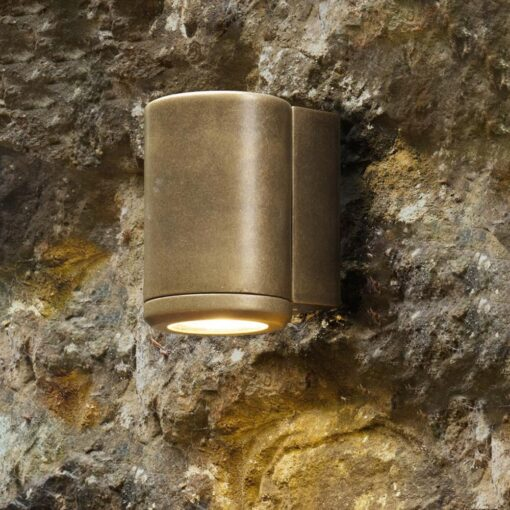 Outdoor Antique Brass Wall Lighter