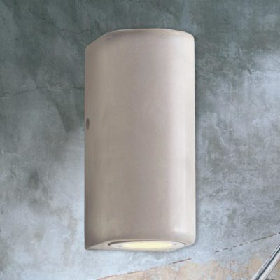 Outdoor Concrete Up Down Wall Light