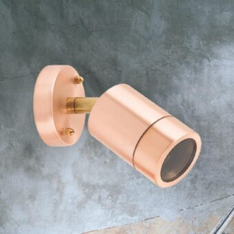 Outdoor Copper Spotlight