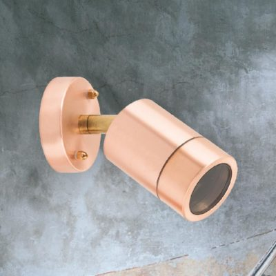 Outdoor Copper Spotlight