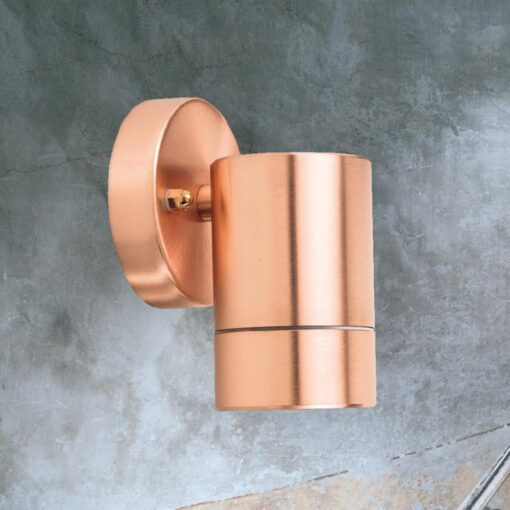 Outdoor Copper Tube Wall Light