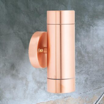Outdoor Copper Up Down Wall Light