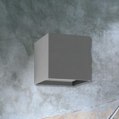 Outdoor Cube Wall Light