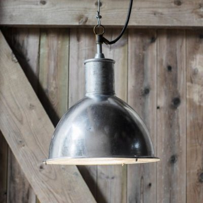 Outdoor Industrial Dome Pendant Light