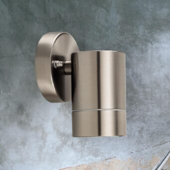 Outdoor Stainless Steel Tube Wall Light