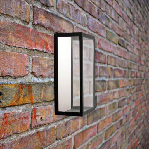 Outdoor Wall Light Black