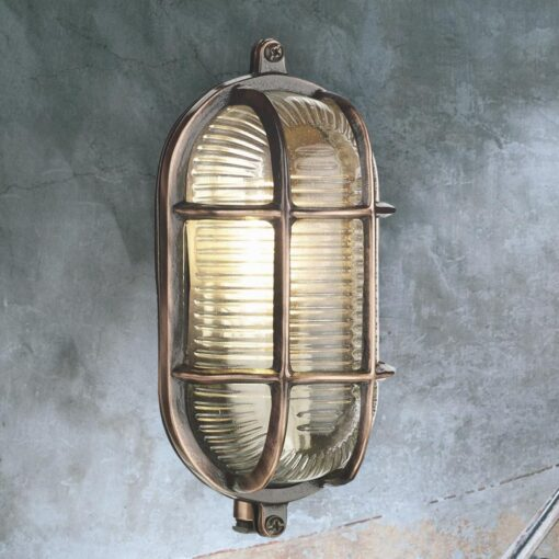 Oval Outdoor Bulkhead Fitting