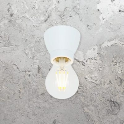 White Porcelain Ceiling Light,White Ceramic Ceiling Light