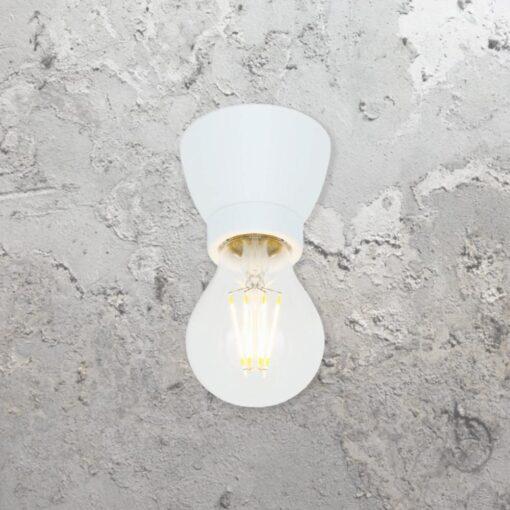 White Porcelain Ceiling Light,White Ceramic Ceiling Light