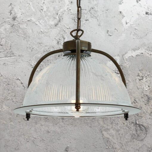 Prismatic Cage Pendant Light