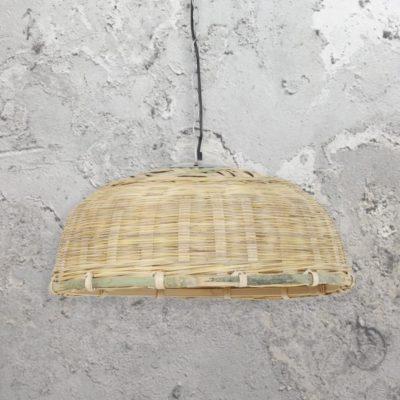Rattan Basket Pendant Light
