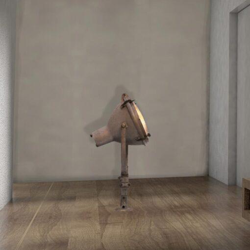 eclaimed Floor Wall Lamp
