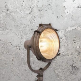 Reclaimed Floor Wall Light