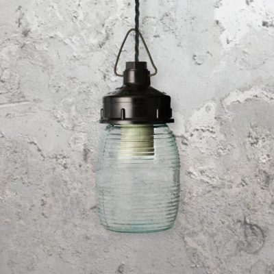 Reclaimed Jar Light,Jar Light,glass jar pendant light