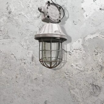 Caged Reclaimed Pendant