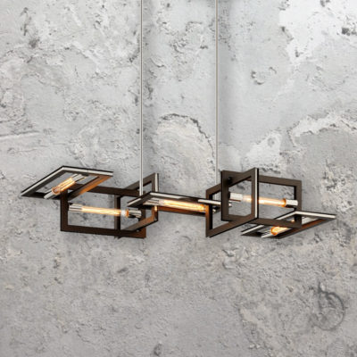 Rectangular Frames Island Lights