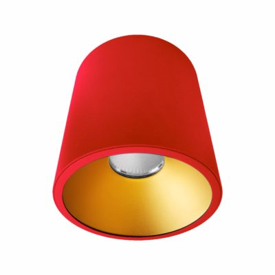 Red Gold Surface Mounted LED Downlight