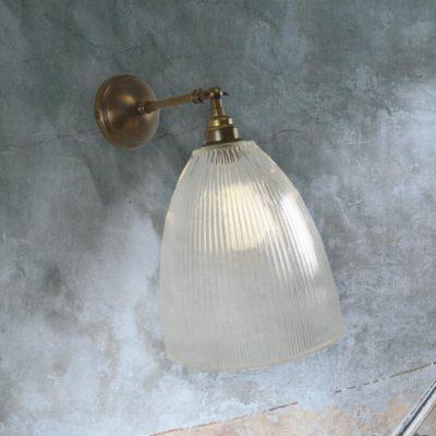 Ribbed Adjustable Wall Light