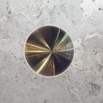 Round Back Wall Light