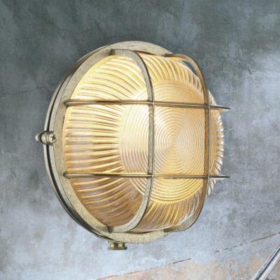 Brass Round Outdoor Bulkhead Fitting