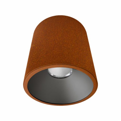Rust Surface Mounted LED Downlight