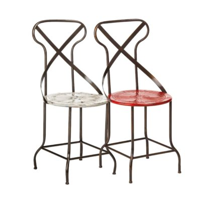 Rustic Metal Chair