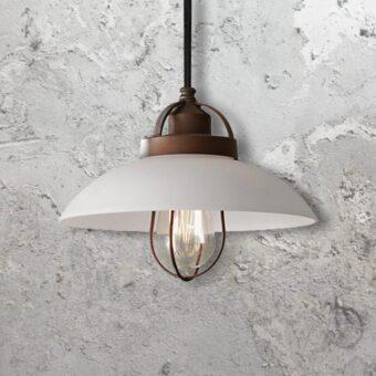 Rustic Pendant Lamp