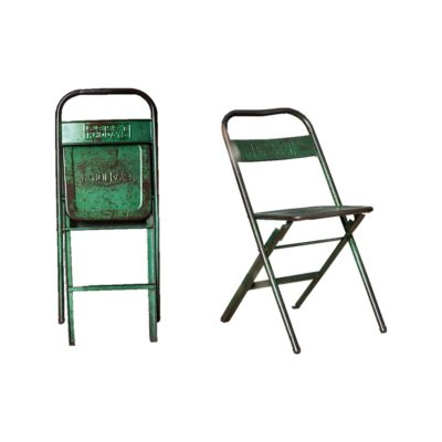Rustic Reclaimed Folding Chair
