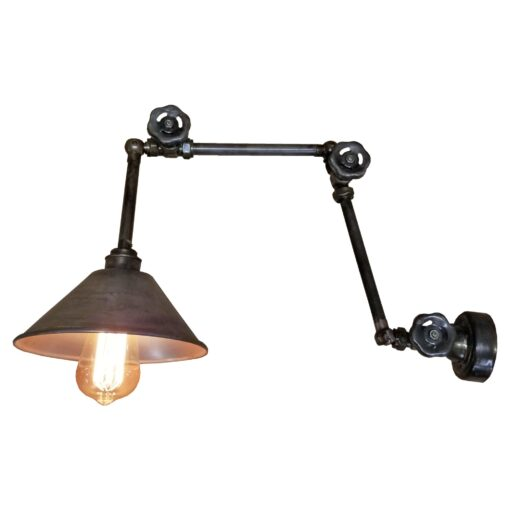 Rustic Valve Wall Light