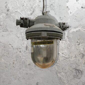 Salvaged Glass Pendant