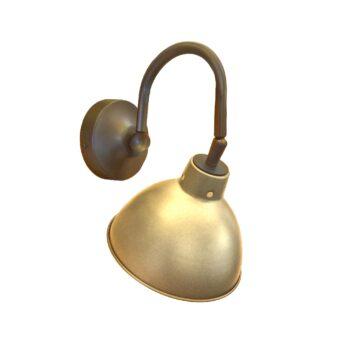 Satin Antique Brass Industrial Picture Light