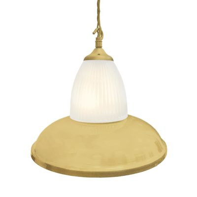 Satin Brass Glass Pendant Light,Industrial Traditional Glass Pendant Light