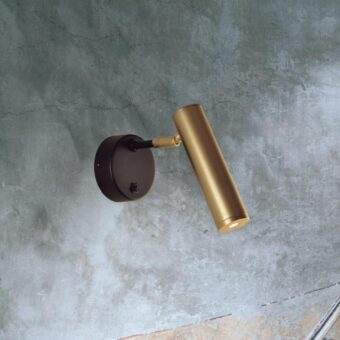 Single Gold LED Spotlight