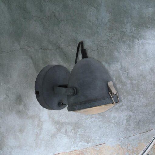 Single Industrial Grey Spotlight