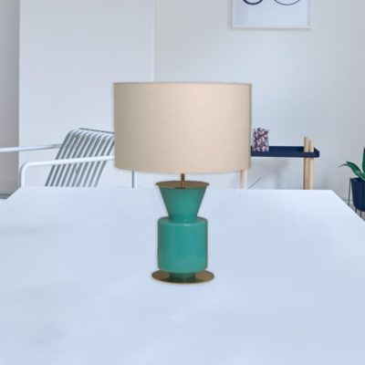 Small Coloured Glass Table Lamp CL-33975