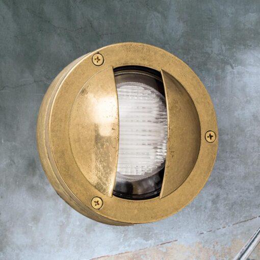 Small Round Covered Bulkhead