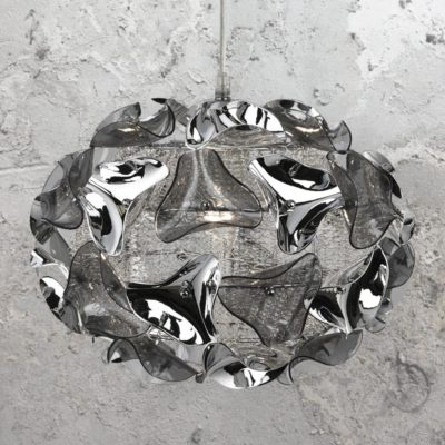 Smoked Acrylic Pendant Light