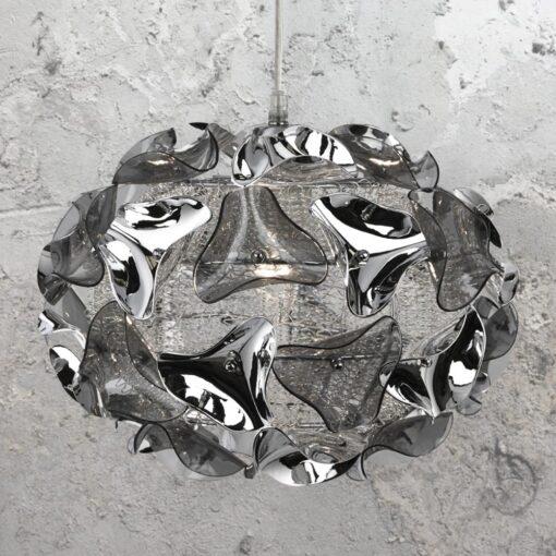 Smoked Acrylic Pendant Light