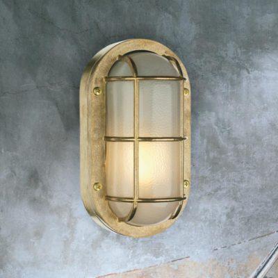 Solid Brass Bulkhead Light