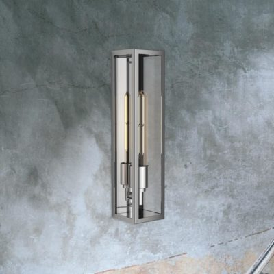 Steel Elongated Outdoor Wall Light