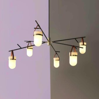 Strap Multi Pendant Light