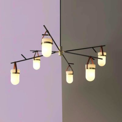 Strap Multi Pendant Light