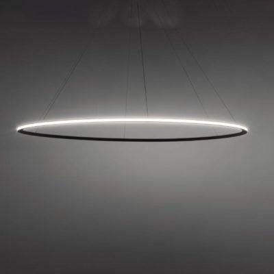 Suspended Large Outwards LED Ring Pendant Chandelier