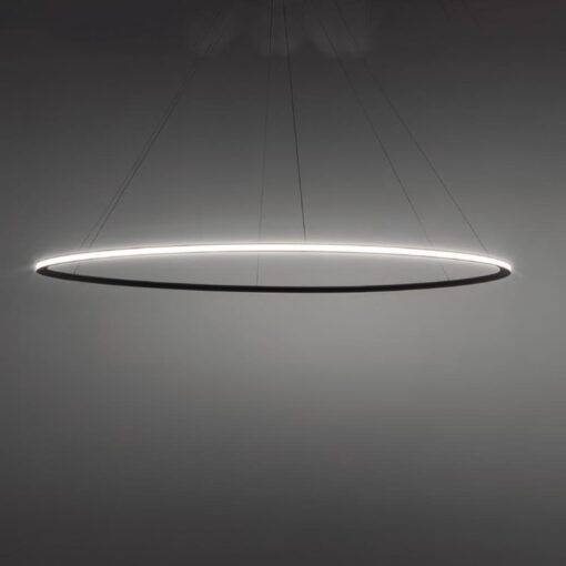Suspended Large Outwards LED Ring Pendant Chandelier