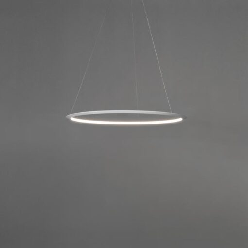 Suspended Small Inwards LED Ring Pendant