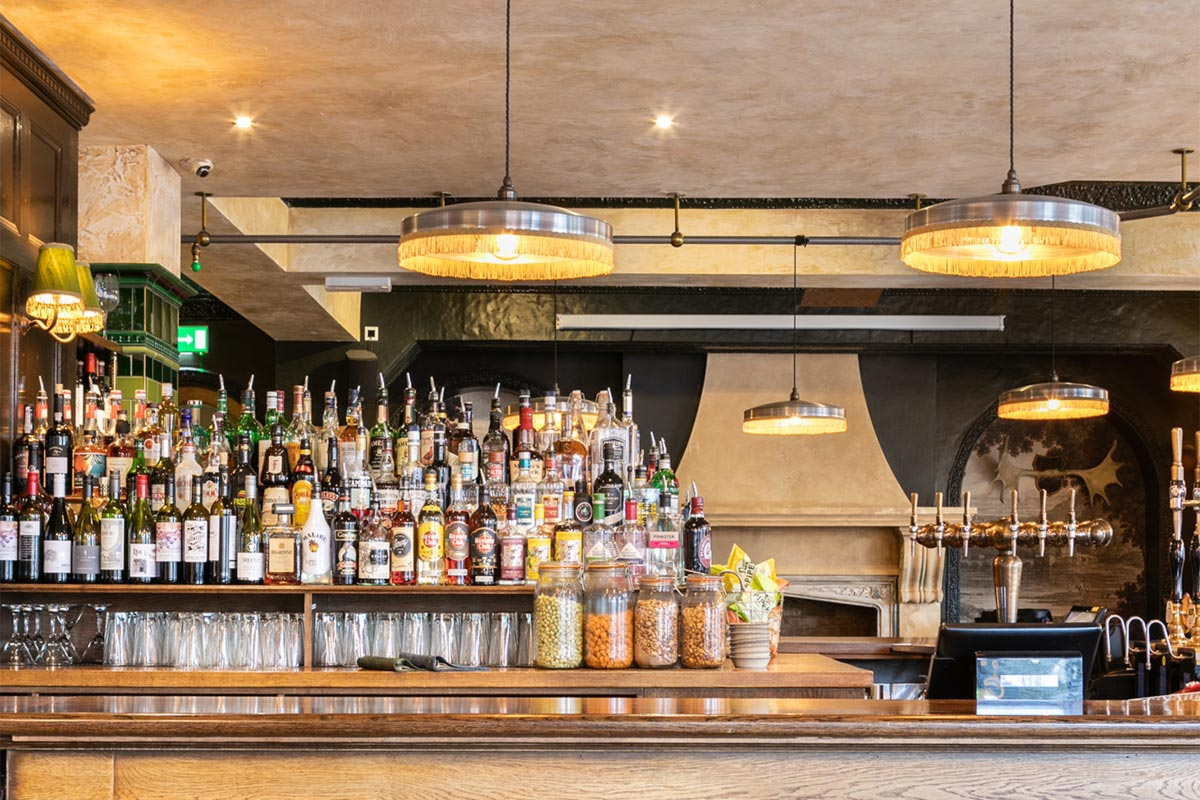 The Bedford, London Bar Pendants