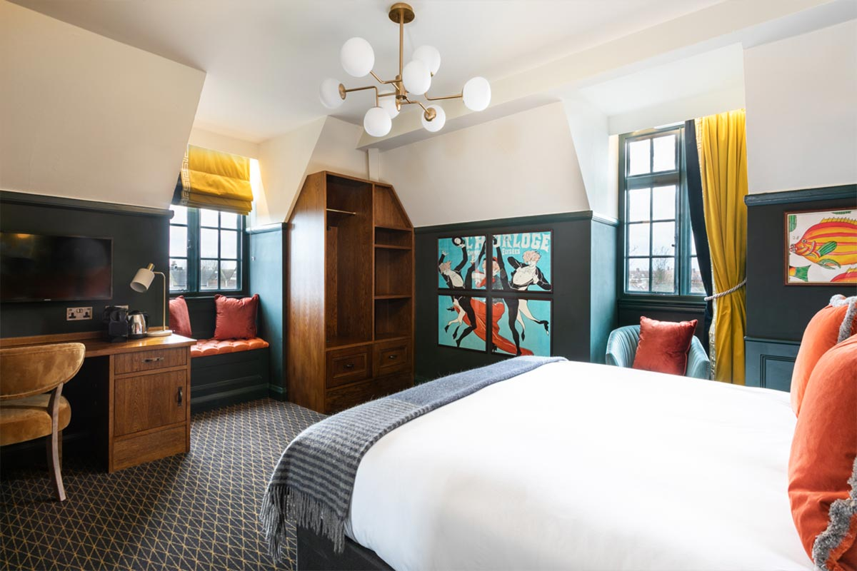 The Bedford, London Bedroom Hotel Lighting