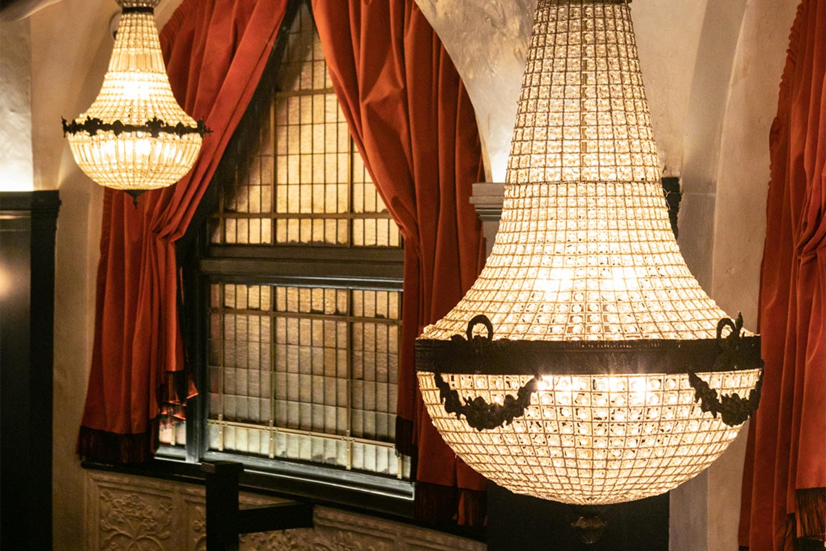 The Bedford, London Feature Chandelier