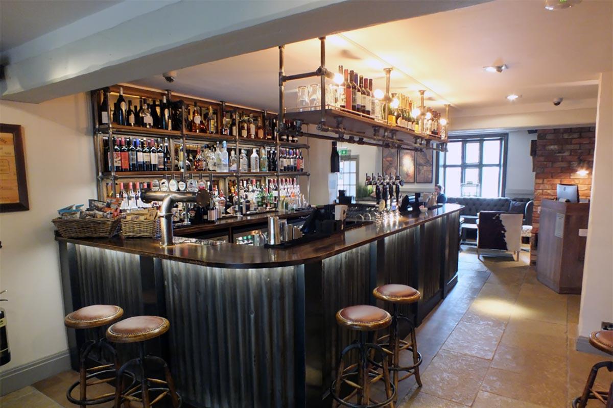 The Boars Head, Nantwich Bar Design