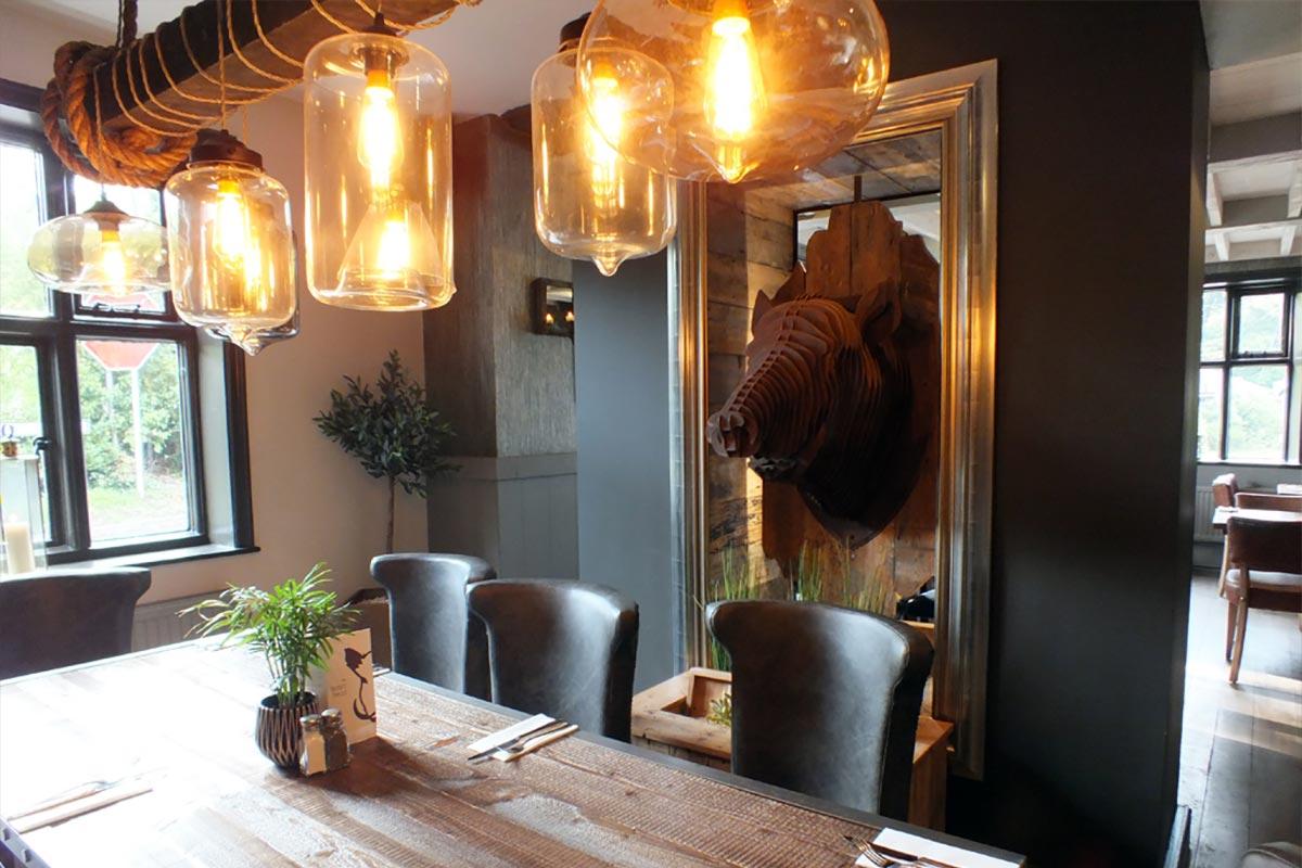 The Boars Head, Nantwich Glass Pendants Lighting